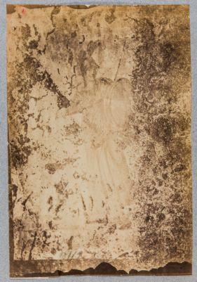 Colombari degli Statili, affresco raffigurante forse Minerva