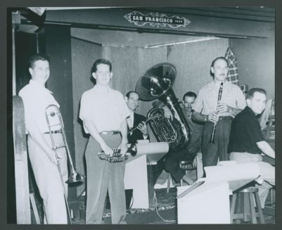 Turk Murphy Jazz Band September 1954
