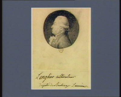 Lenglier cultivateur député du bailliage d'Amiens : [dessin]