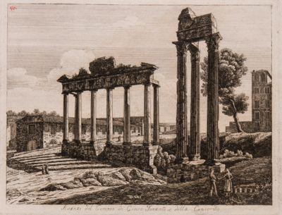 Tempio di Giove Tonante, tempio della Concordia, avanzi