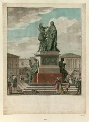 [Projet d'un monument à ériger pour le Roi et dédié à l'Assemblée nationale] [estampe]