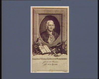 Christian Wilhelm Lamoignon. Malesherbes geboren d. 6 Dec. 1721 gest d. 22 Apr. 1794 : [estampe]