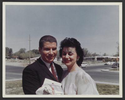 Turk Murphy and Harriet Murphy, wedding photo
