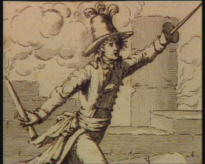 8.e plaie Les sauterelles commissaires envoyés dans les départements Carrier, Collot, Freron, Joseph Le Bon &c. Féroces proconsuls dans les départements Combien votre passage a causé de tourments : [estampe]
