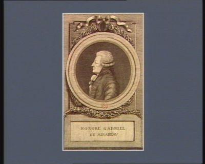 Honoré Gabriel de Mirabeau [estampe]