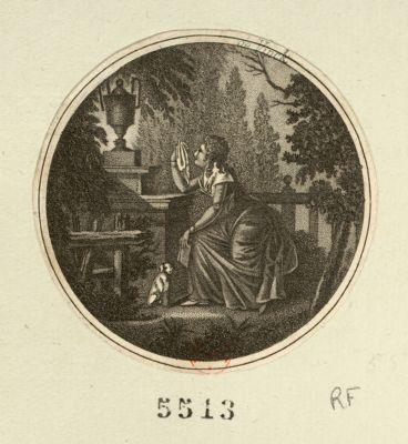 [Profils silhouettes de Louis seize et de Marie Antoinette] [estampe]