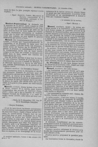 Tome 56 : Du 28 décembre 1792 au 11 janvier 1793 - page 35