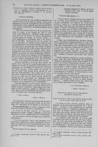 Tome 56 : Du 28 décembre 1792 au 11 janvier 1793 - page 76