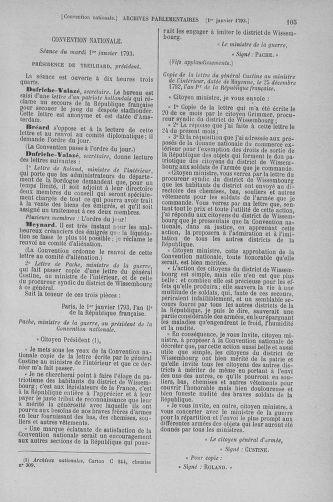 Tome 56 : Du 28 décembre 1792 au 11 janvier 1793 - page 105