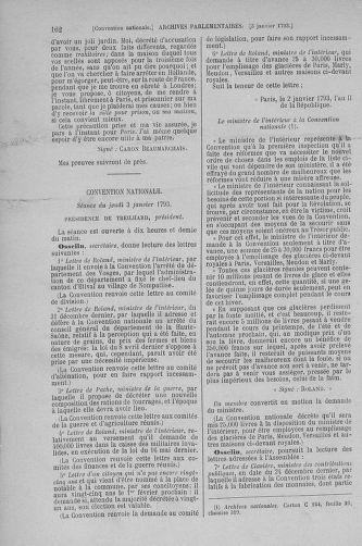 Tome 56 : Du 28 décembre 1792 au 11 janvier 1793 - page 162