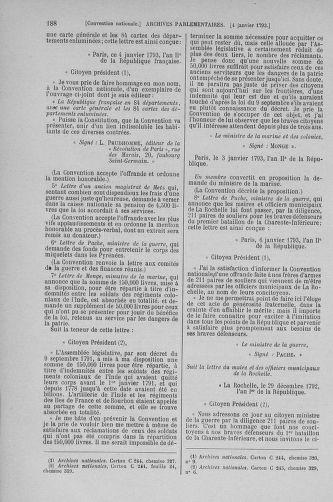 Tome 56 : Du 28 décembre 1792 au 11 janvier 1793 - page 188