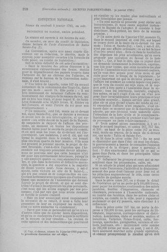 Tome 56 : Du 28 décembre 1792 au 11 janvier 1793 - page 218