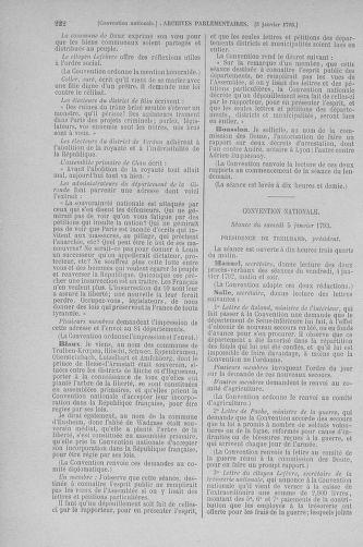 Tome 56 : Du 28 décembre 1792 au 11 janvier 1793 - page 222