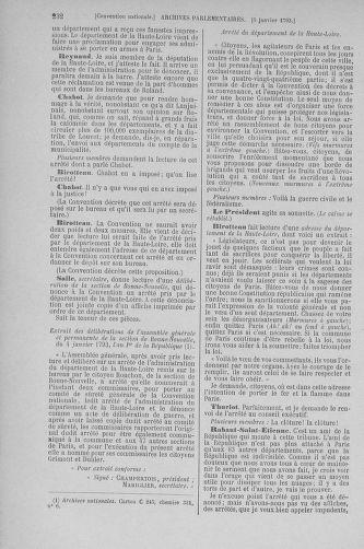 Tome 56 : Du 28 décembre 1792 au 11 janvier 1793 - page 232