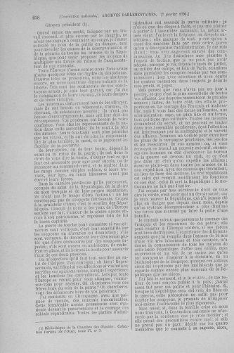 Tome 56 : Du 28 décembre 1792 au 11 janvier 1793 - page 258