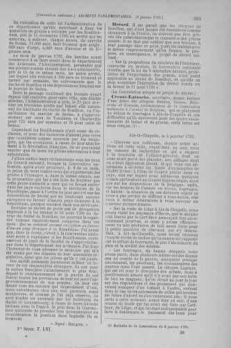 Tome 56 : Du 28 décembre 1792 au 11 janvier 1793 - page 593