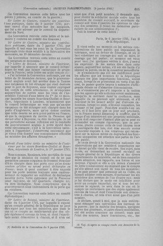 Tome 56 : Du 28 décembre 1792 au 11 janvier 1793 - page 605