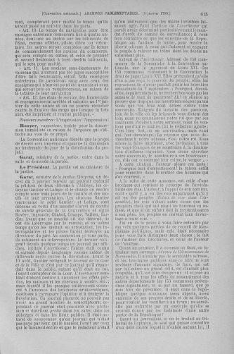 Tome 56 : Du 28 décembre 1792 au 11 janvier 1793 - page 615
