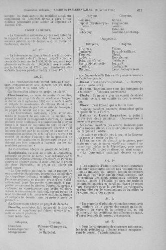 Tome 56 : Du 28 décembre 1792 au 11 janvier 1793 - page 617