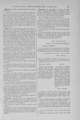 Tome 56 : Du 28 décembre 1792 au 11 janvier 1793 - page 707
