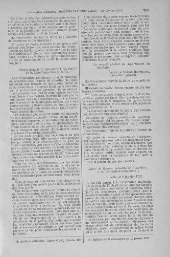 Tome 56 : Du 28 décembre 1792 au 11 janvier 1793 - page 709