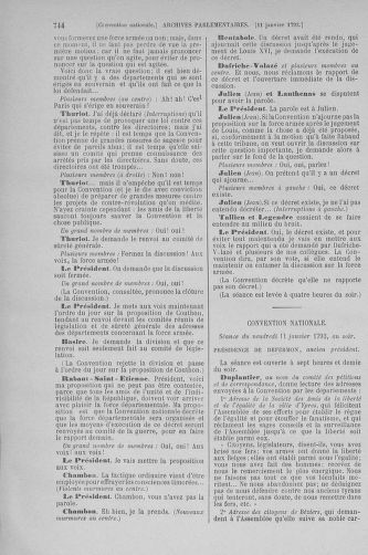 Tome 56 : Du 28 décembre 1792 au 11 janvier 1793 - page 744