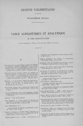 Tome 56 : Du 28 décembre 1792 au 11 janvier 1793 - page ..
