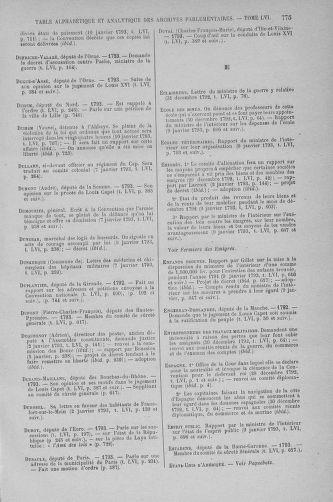 Tome 56 : Du 28 décembre 1792 au 11 janvier 1793 - page 775