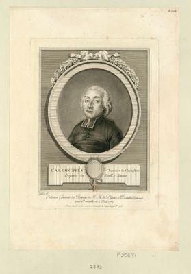 L' Ab. Long prés, chanoine de Champlette député du baill. d'Amont : [estampe]