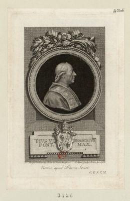 Pius VI Braschius Pont. max [estampe]