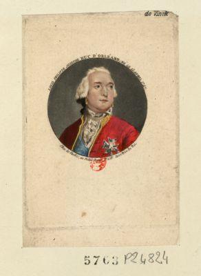 Louis Philippe Josephe [sic] duc d'Orléans né le 13 avril 1747 : [estampe]