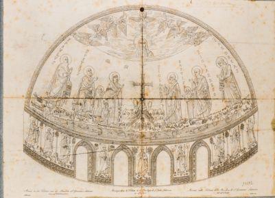 Chiesa di S. Giovanni in Laterano. Abside, decorazione