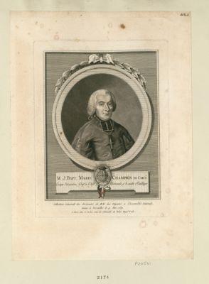 M. J. Bapt. Marie Champion de Circé [sic] Evêque d'Auxerre, Dep.té <em>à</em> l'Ass.e Nationale, p.r le susdit Bailliage : [estampe]
