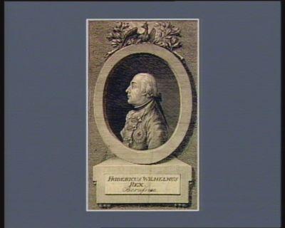 Fridericus Wilhelmus Rex Borussiae [estampe]