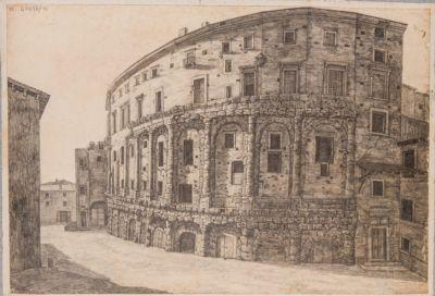 Teatro di Marcello, Casa degli Orsini