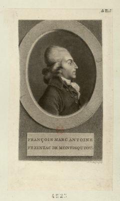 François Marc Antoine Fezinzac de Montesquiou [estampe]