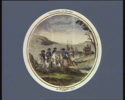 Evacuation de Verdun le 17 octobre <em>1792</em> : [estampe]