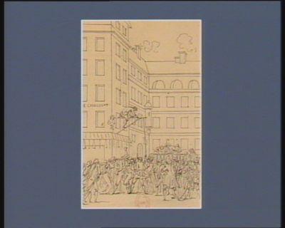 [Evénement du vingt-deux octobre <em>1789</em>] [dessin]