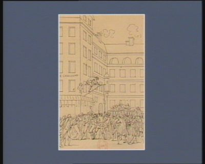 [Evénement du vingt-deux octobre 1789] [dessin]