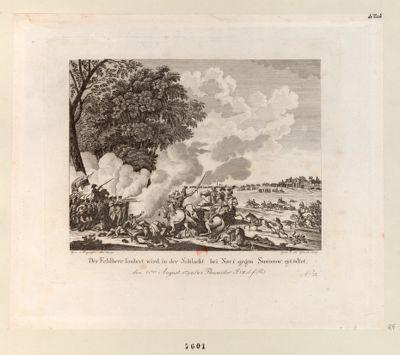 Der  Feldherr Ioubert wird in der Schlacht bei Novi gegen Suworow getödtet den 15.ten August 1799... : [estampe]