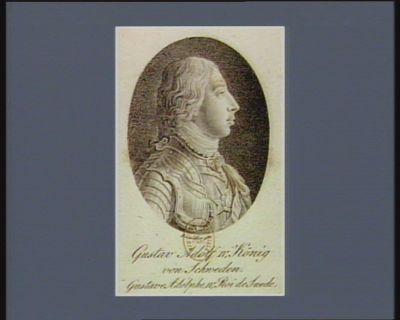 <em>Gustav</em> Adolph <em>IV</em> König von Schweden [estampe]