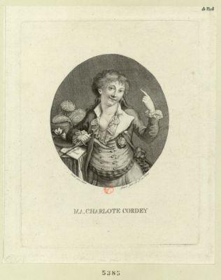 M.A. Charlotte Cordey [estampe]
