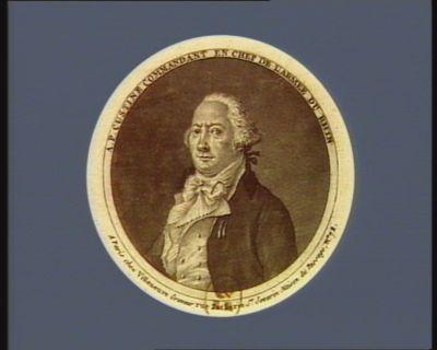 A.P. Custine commandant en chef de l'armée du Rhin [estampe]