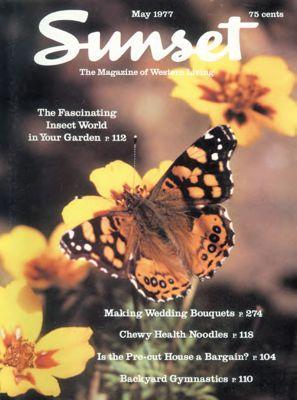 Sunset Magazine cover. May 1977