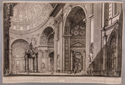 S. Pietro in Vaticano. Interno, crociera