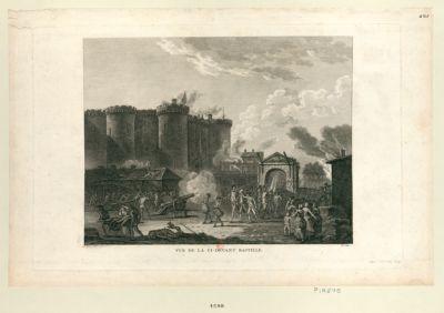 Vue de la ci-devant <em>Bastille</em> départ. de la Seine n.o 99 : [estampe]