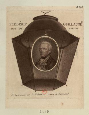 Frédéric Guillaume roy de Prusse si tu ne crains la déchéance, crains la suspension : [estampe]