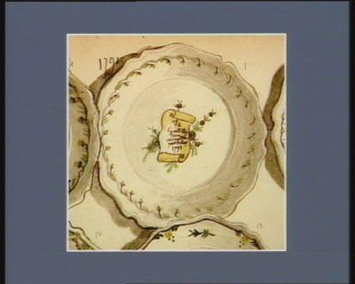 La  Constitution acceptée par le Roy 1791 [dessin]