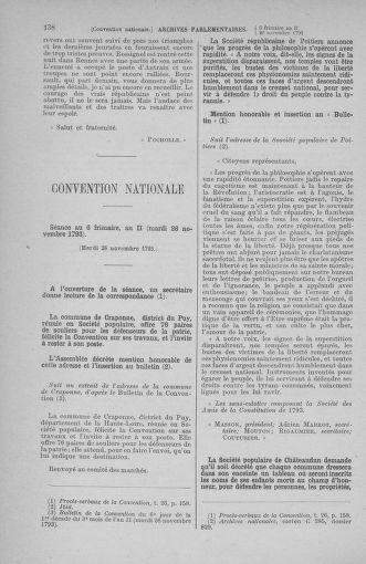 Tome 80 : Du 24 novembre au 5 décembre 1793 - page 138