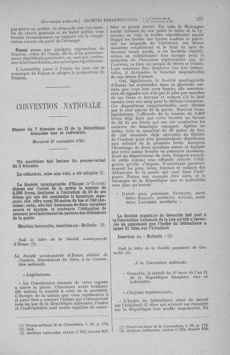 Tome 80 : Du 24 novembre au 5 décembre 1793 - page 237